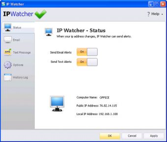 IP Watcher Screenshot