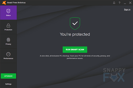 avast free antivirus screenshot image